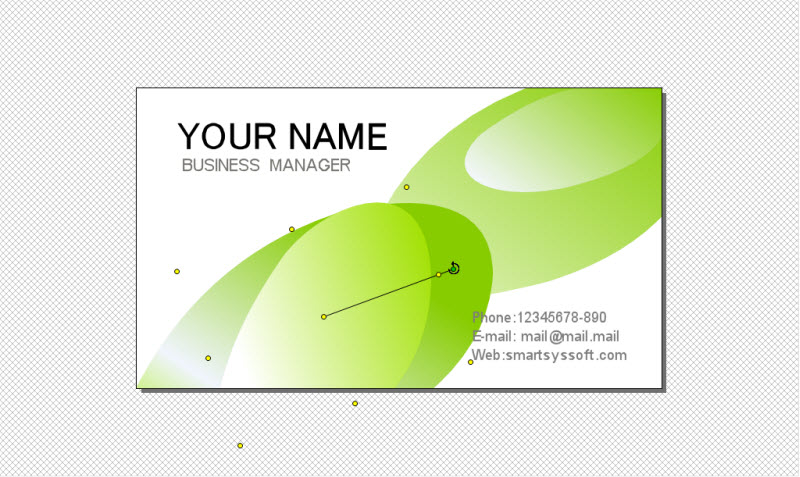 SmartsysSoft Business Card Maker Screenshot