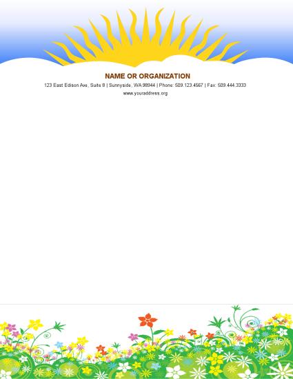 View flyers, brochures, letterhead, flyer, Poster etc. samples online