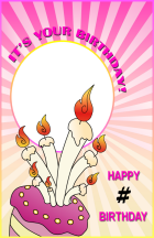 Click to enlarge this Birthday Card Sample