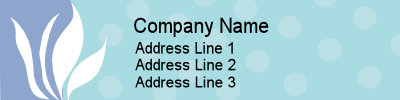 Address Label Sample
